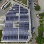 Solar panels at Boulevard Brewing Co